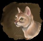 Cat Portrait - Speedpaint