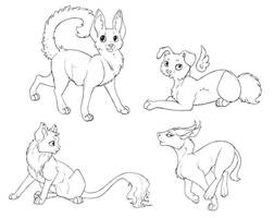Fluffy Felines (Free to use Lines)