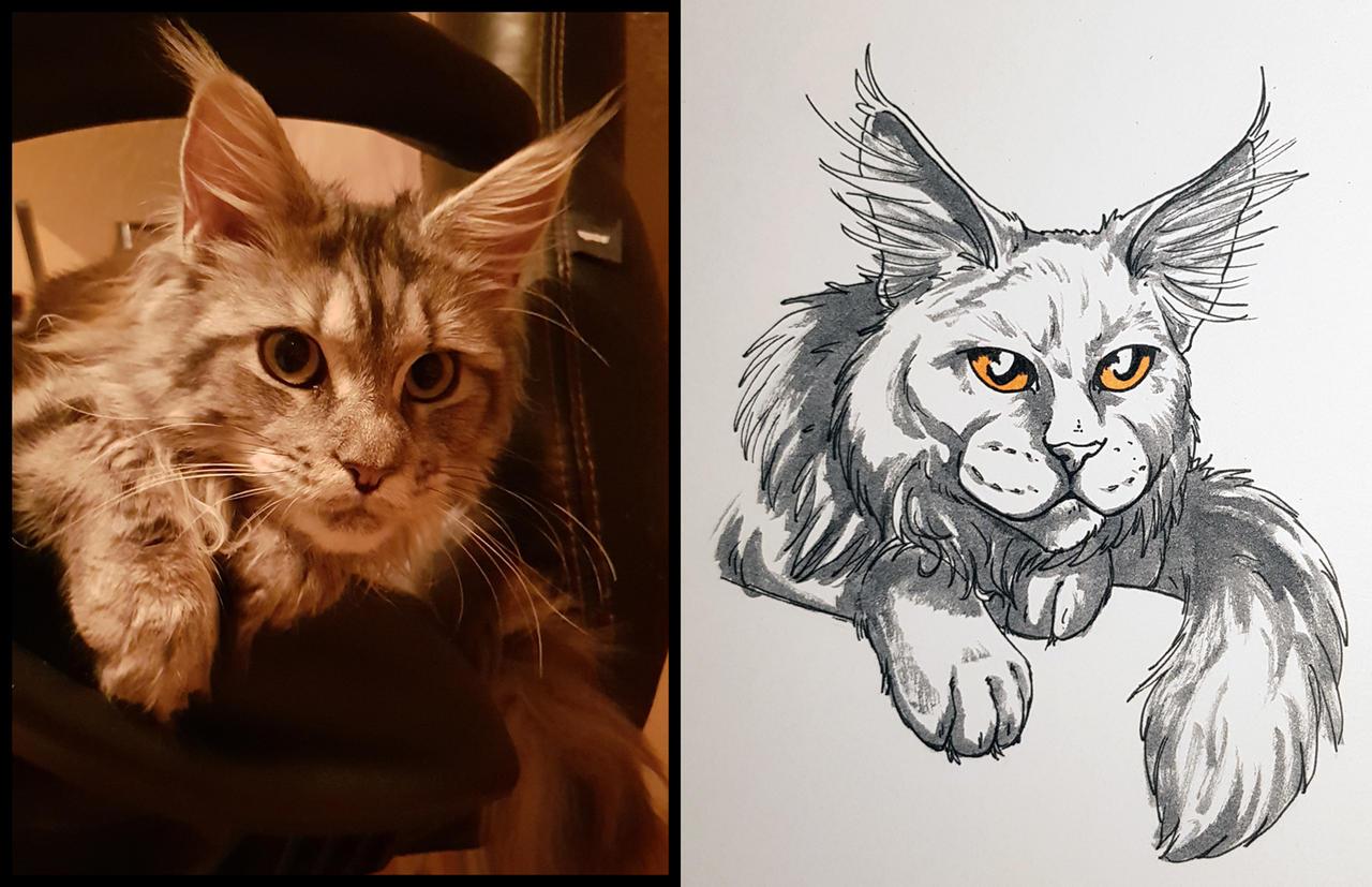 Quick Sketch of my Princess