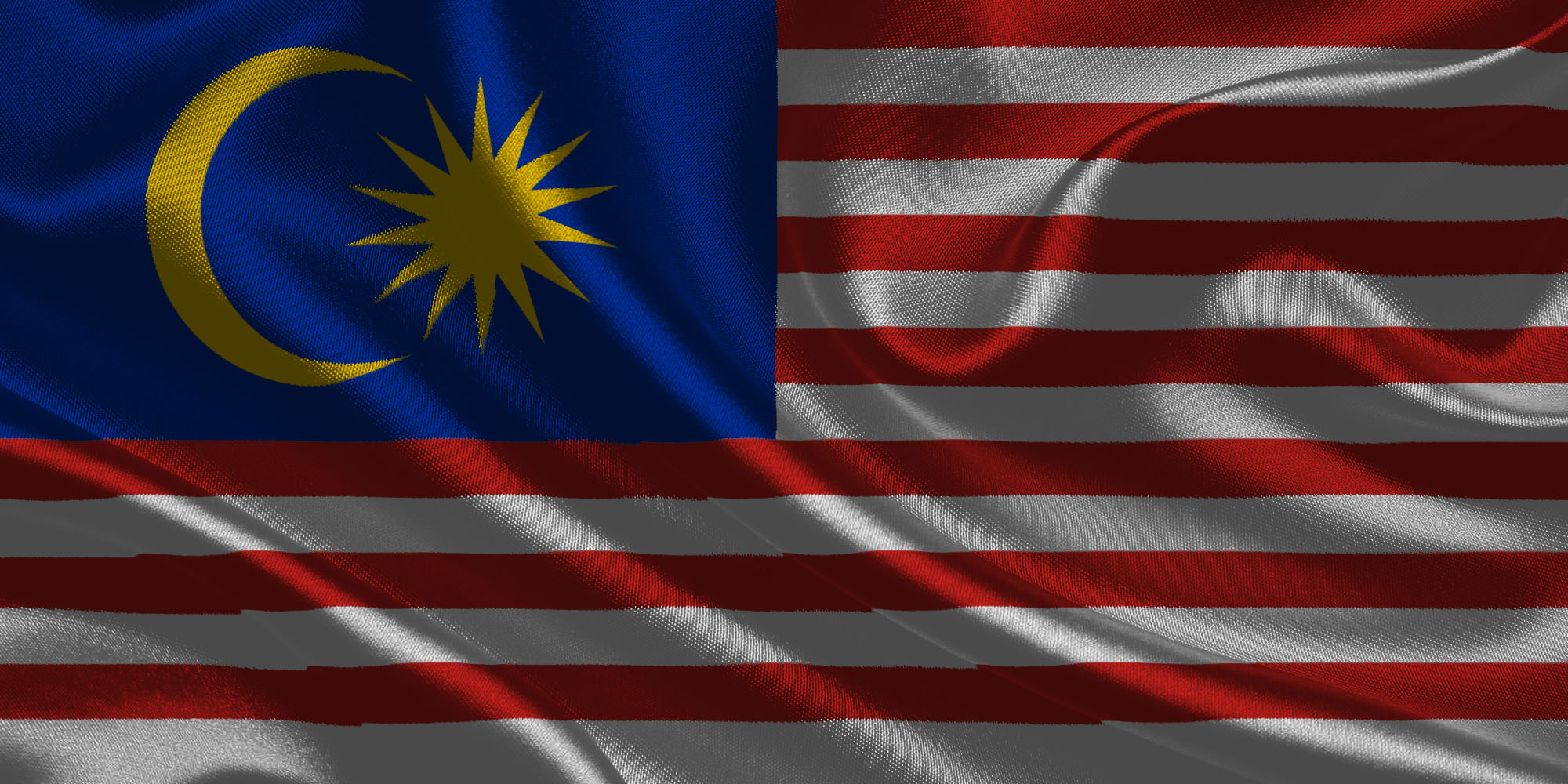 Flag of malaysia wallpapers in 3d by gultalibk on deviantart for 3d wallpaper for home malaysia