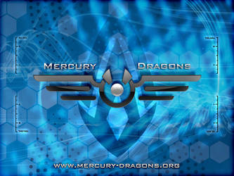 Mercury Dragons Wallpaper by e-maxim