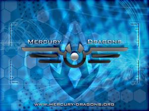 Mercury Dragons Wallpaper