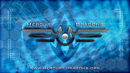 Mercury Dragons Wallpaper HD by e-maxim