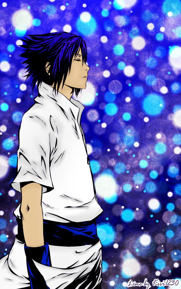 Sasuke LineArt Coloured by KireiSora