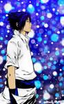 Sasuke LineArt Coloured