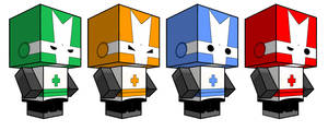 Castle Crashers Cubees