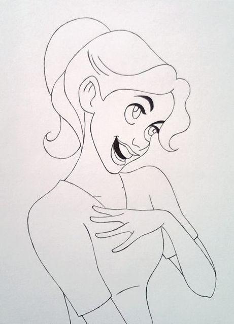 Me as a Disney cartoon by Sacha31