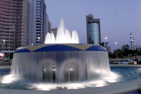 UAE's fountain by chabello