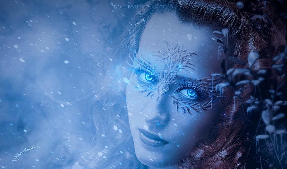 Winter Eyes by da505