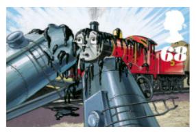James Railway Series Royal Stamp by KitKat37