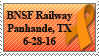 BNSF Railway Support Stamp by KitKat37