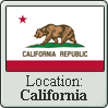 California Stamp by Loco-Station
