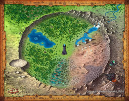 Heroes of Arena boardgame by TomDigitalGraphics