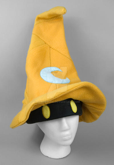Black Mage Croma Hat by SewDesuNe