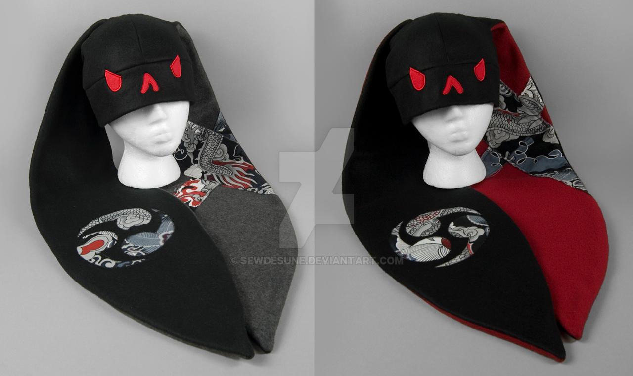 Yakuza Bunny Hats by SewDesuNe