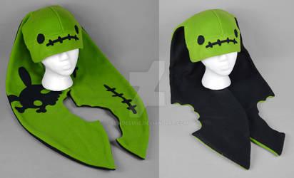 Long-eared Zombunny Hat
