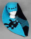 Teal Punk Bunny Hat