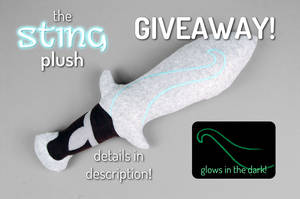 Sting Sword Plush Giveaway! -- Closed by SewDesuNe