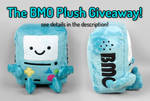 BMO Plush Giveaway -- Closed