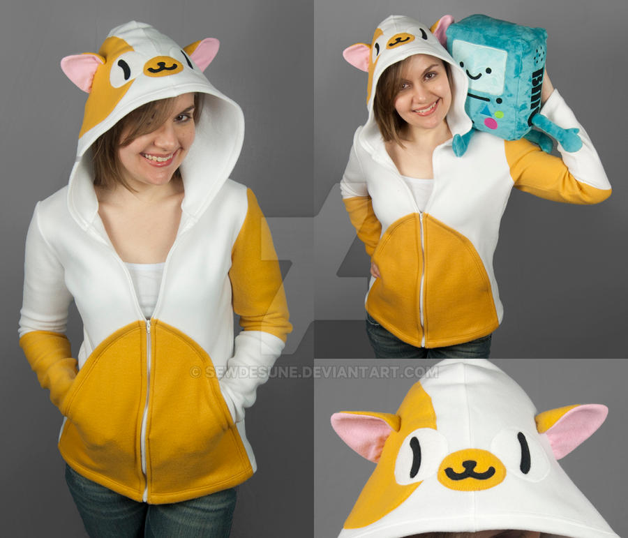 Adventure Time Cake The Cat Onesie