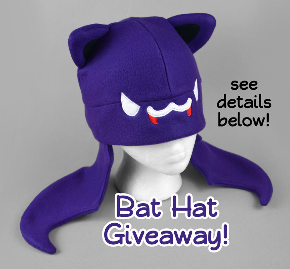 Bat Hat Giveaway -- Closed by ShoriAmeshiko