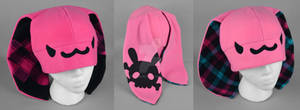 Mini Pink Punk Bunny Hat