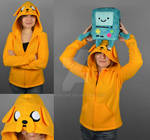 Adventure Time Jake Hoodie
