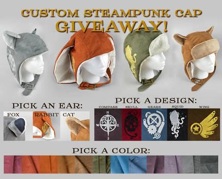 Custom Steampunk Cap Giveaway [Closed]