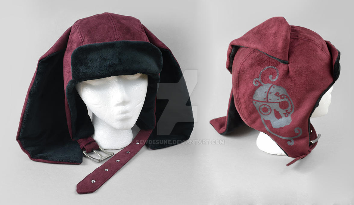 Steampunk Aviator Cap - The Assassin by SewDesuNe