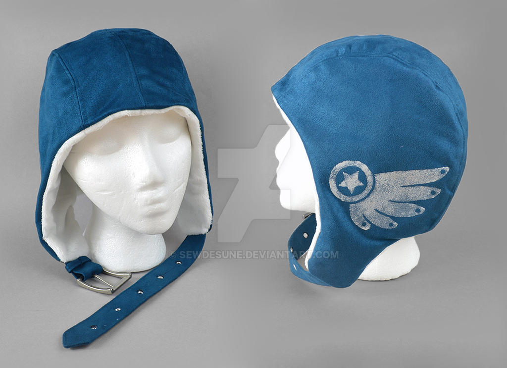 Steampunk Aviator Cap - The Captain by SewDesuNe