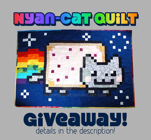 Nyan Cat Quilt Giveaway! [Closed]