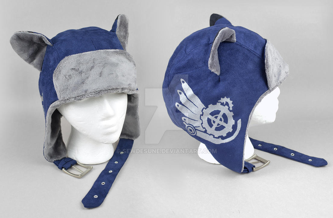 Steampunk Aviator Cap - The Architect by SewDesuNe