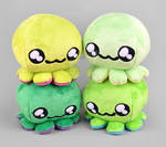 Green Octopus Plush Collection