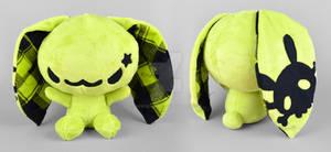 Green Punk Bunny Plush