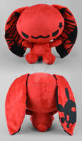 Red Punk Bunny Plush