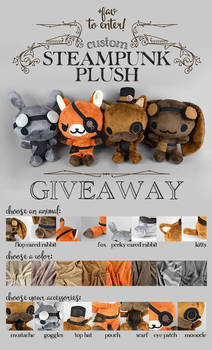 Steampunk Plush Raffle! [Closed]