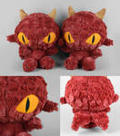 Red Dragon Plushies