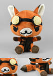 The Pilot - Steampunk Critter Plush