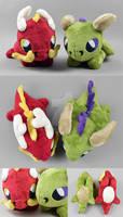 Dragon Plushies