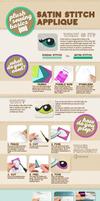 Satin Stitching Infographic