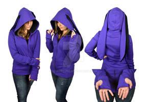 Purple Rabbit Hoodie