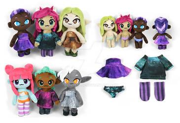 Chibi Human Doll Plushies