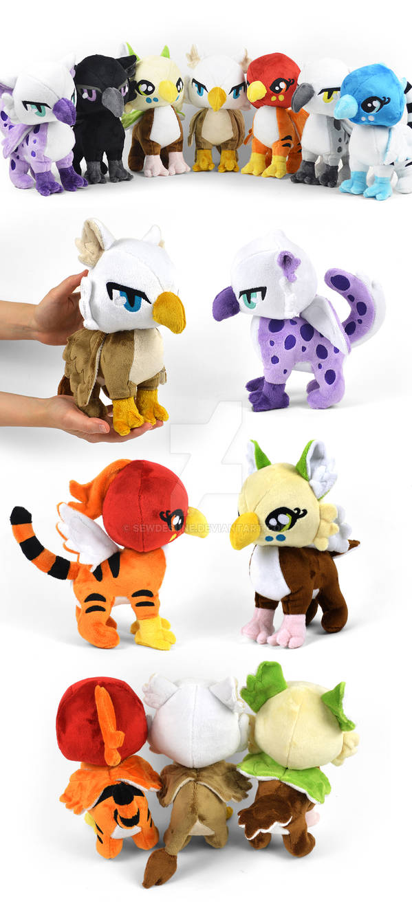 Big Cat Griffin Plushies
