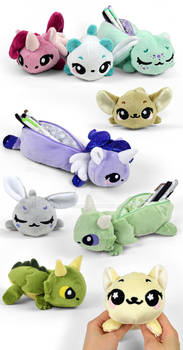 Pencil Pouch Plush