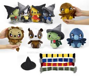Hogwarts House Mascots Plush