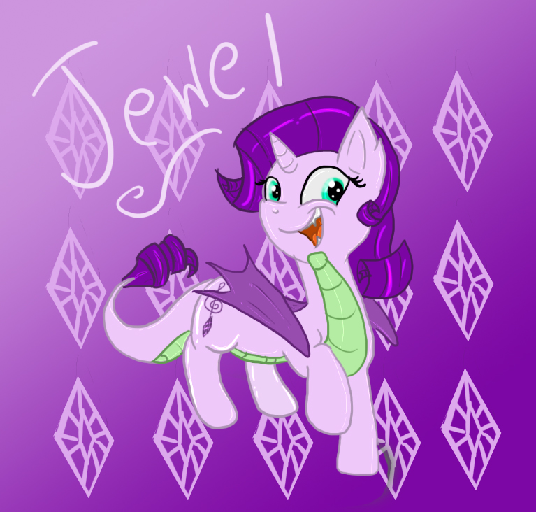 Spike And Rarity Kids Images & Pictures - Becuo