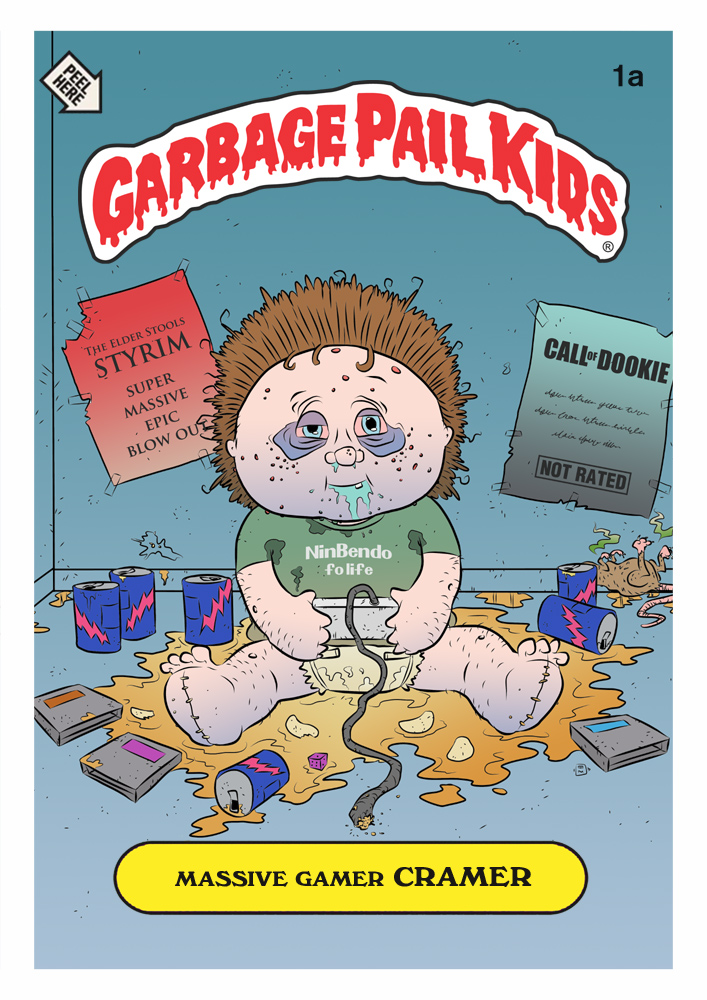 garbage pail kids coloring pages - photo#29