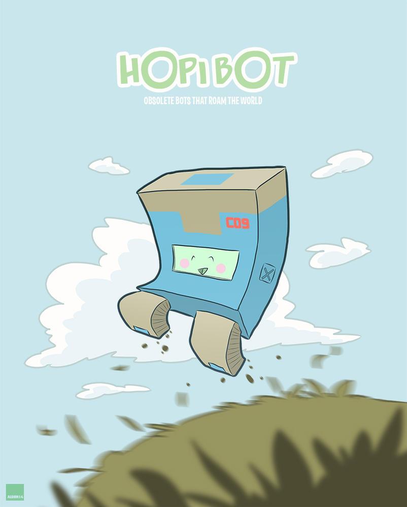 Hopi Bot concept C09 by AldenMiranda
