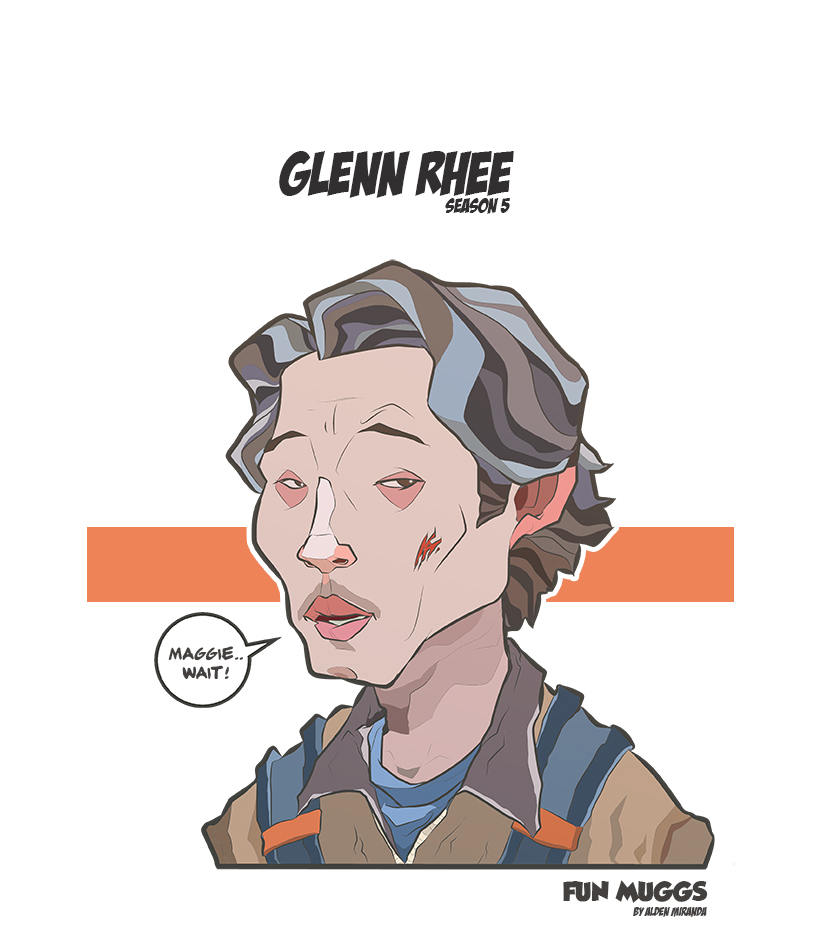 Glenn Rhee (Season 5) The Walking Dead by AldenMiranda
