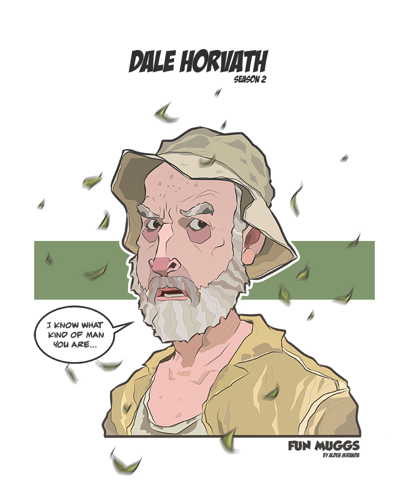 Dale Horvath (Season 2) The Walking Dead by AldenMiranda